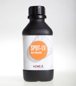 Spot-lv resine print 3D fluide