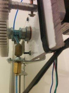 Vu raccord pneumatique rapide+fil+tuyau diy reprap print3D