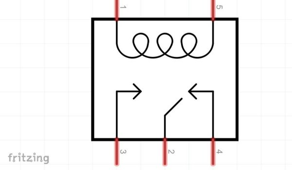 vue schematique relais