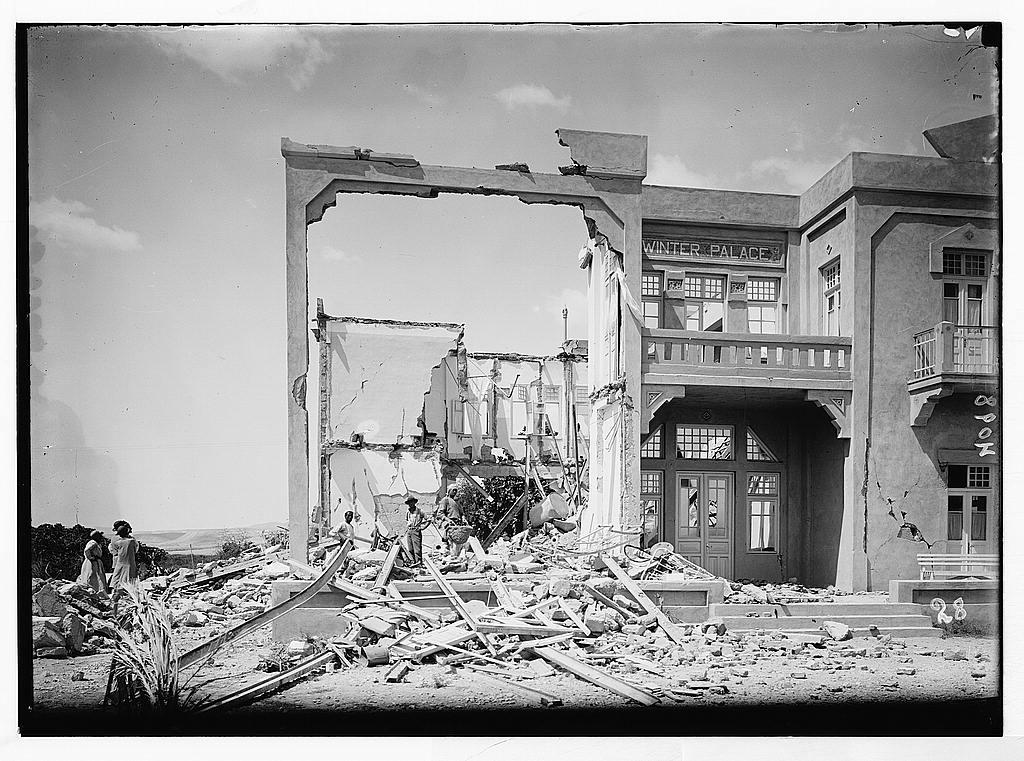 1927 earthquake israel www.electroverse.net