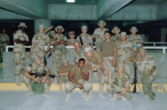 Hard men after the Gulf War