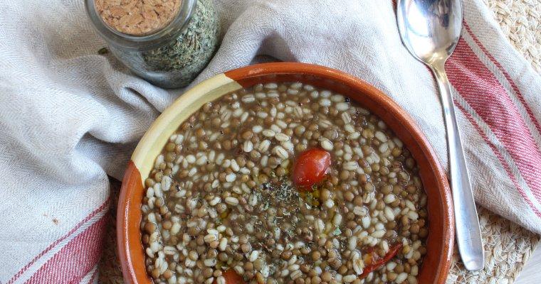 Orzo e lenticchie