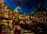 "Canvas 9, ""Nightfall in Verona"""
