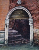 "Canvas 23, ""Venetian Doorway"""