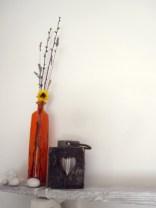 Shelf Orange Flower
