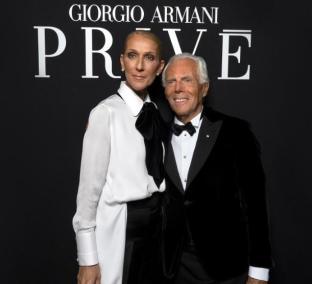 Giorgio Armani Celine Dion