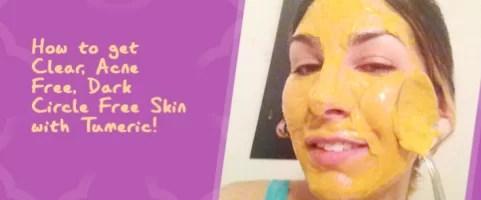 turmeric for skin