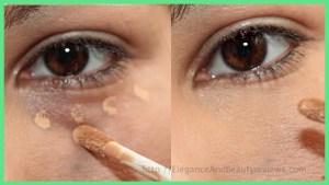 NARS Radiant Creamy Concealer before after