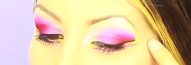 My eyeshadow creation using Coastal Scents 252 Ultimate Palette Review