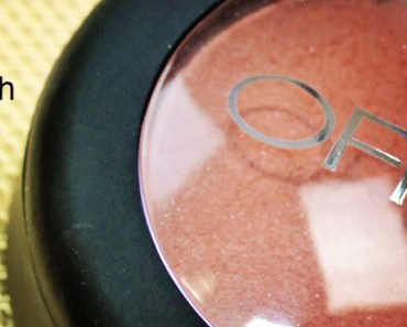 OFRA Pressed Blush Review