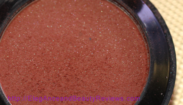 OFRA Pressed Blush Review photo taken with low lighting to show sparkles