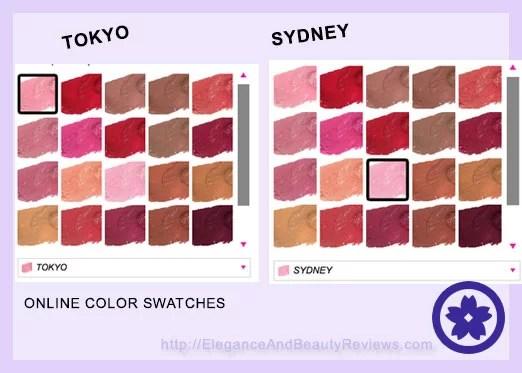 NYX Soft matte lip cream swatches online