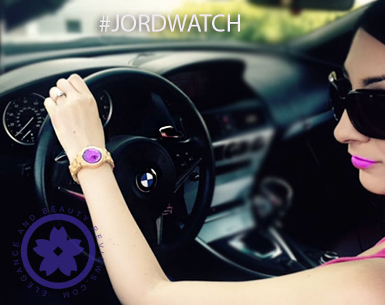 wearing jord watch