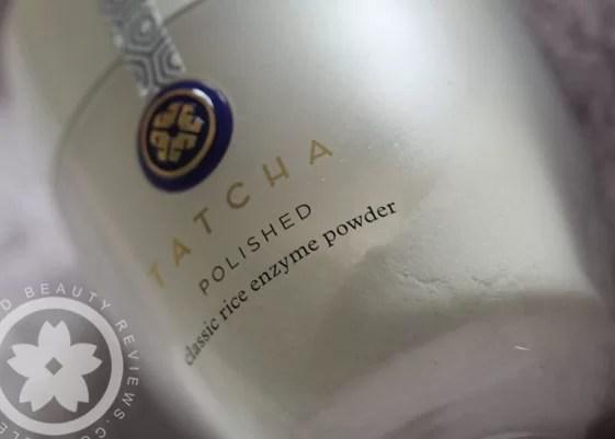 tatcha polished rice enzyme powder