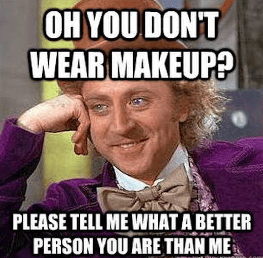 Why do women hate other women who wear makeup?
