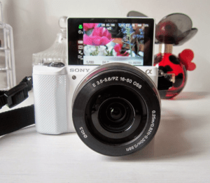 beauty vlogging camera