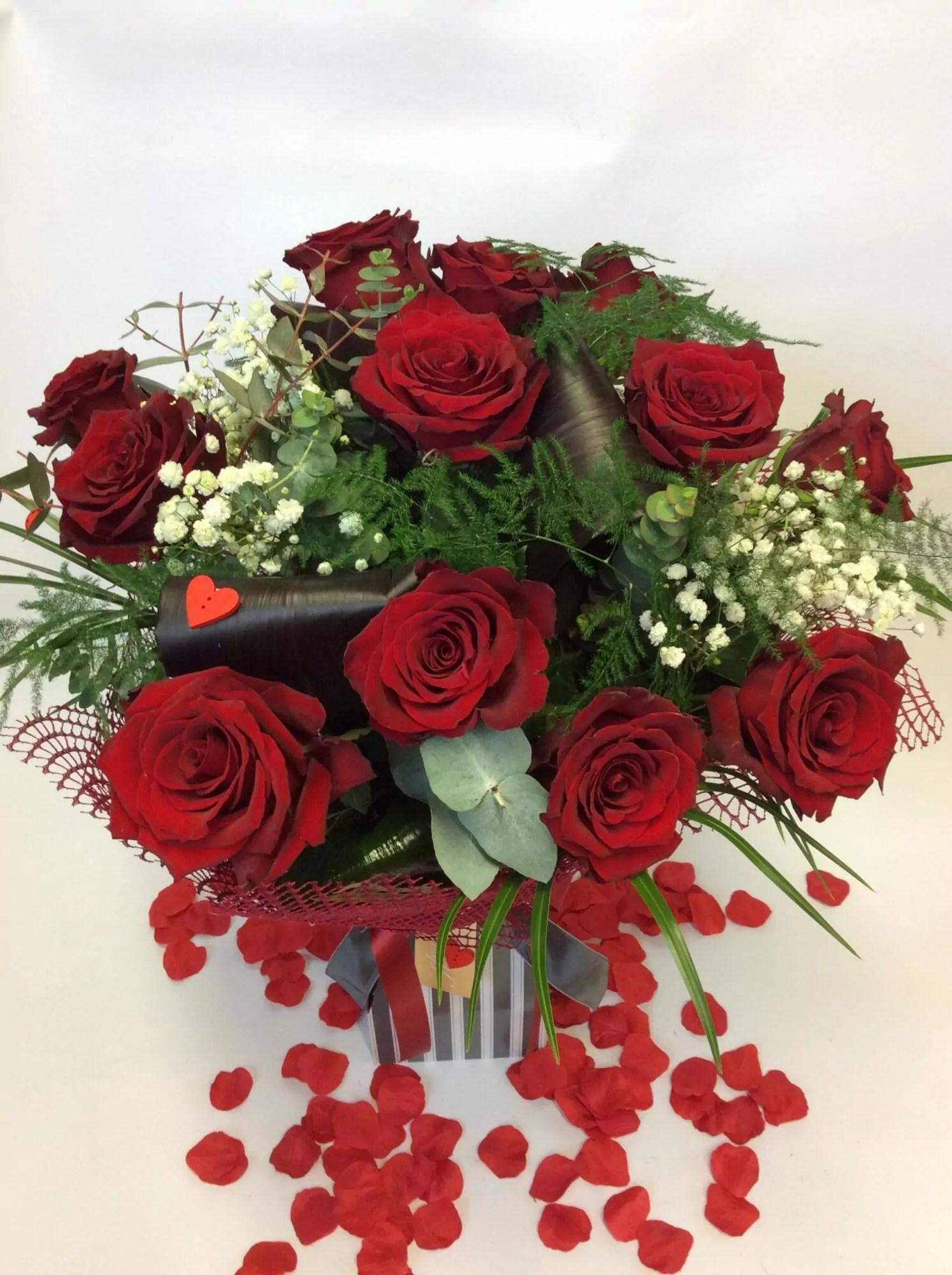 12 Red Roses • Elegance Florists Cork