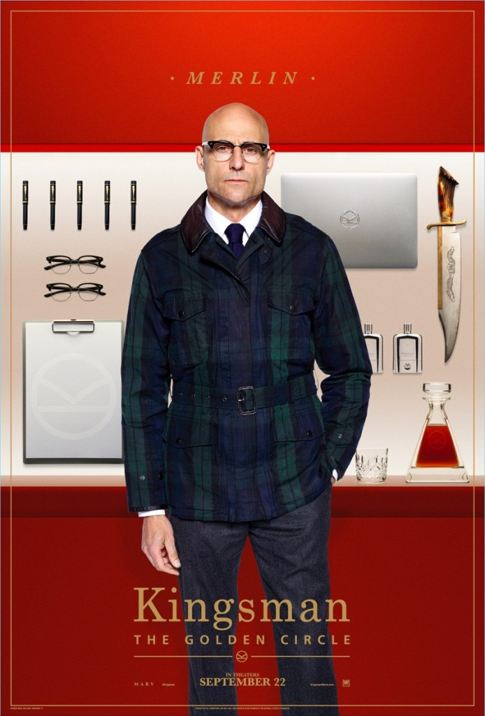 Kingsman-The-Golden-Circle-Poster-Mark-Strong-Merlin