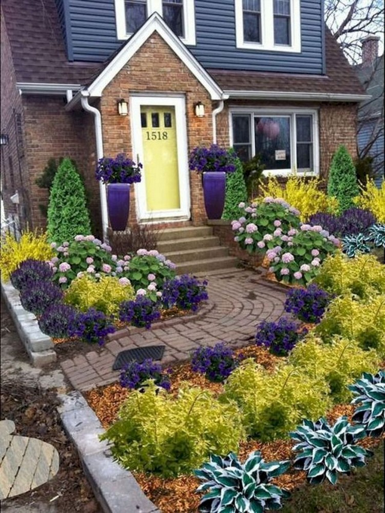 73+ Beautiful Small Front Yard Landscaping Ideas on Small Yard Landscaping id=19493
