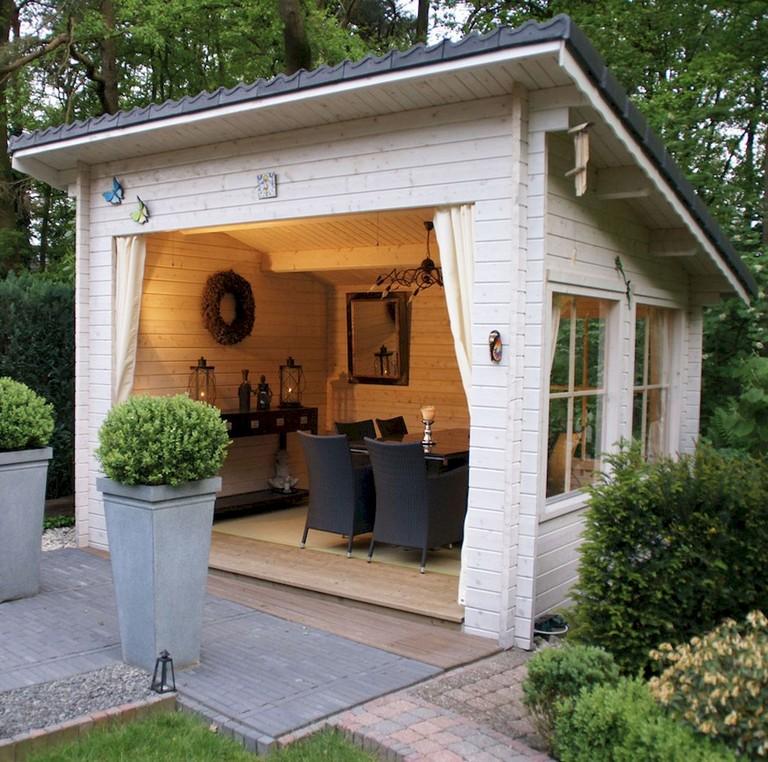 50 Popular DIY Backyard Studio Shed Remodel Design & Decor ... on Diy Backyard Remodel id=93338