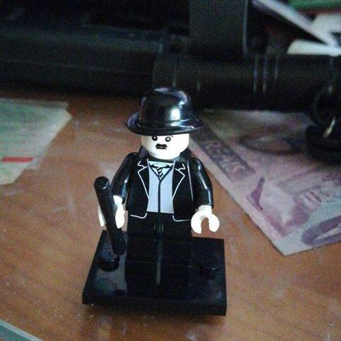 Chaplin de LEGO