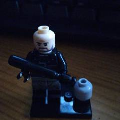 Lucille y Negan TWD LEGO