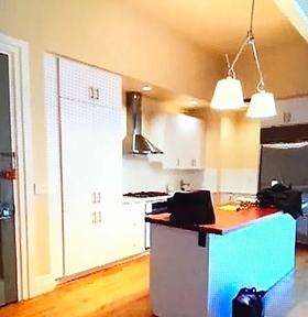 渡辺直美のニューヨークの家 キッチン