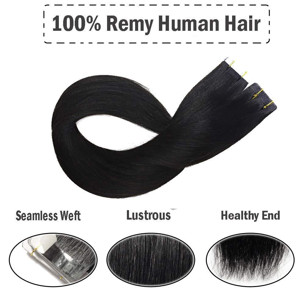 Tape in Hair Extensions Remy Human Hair