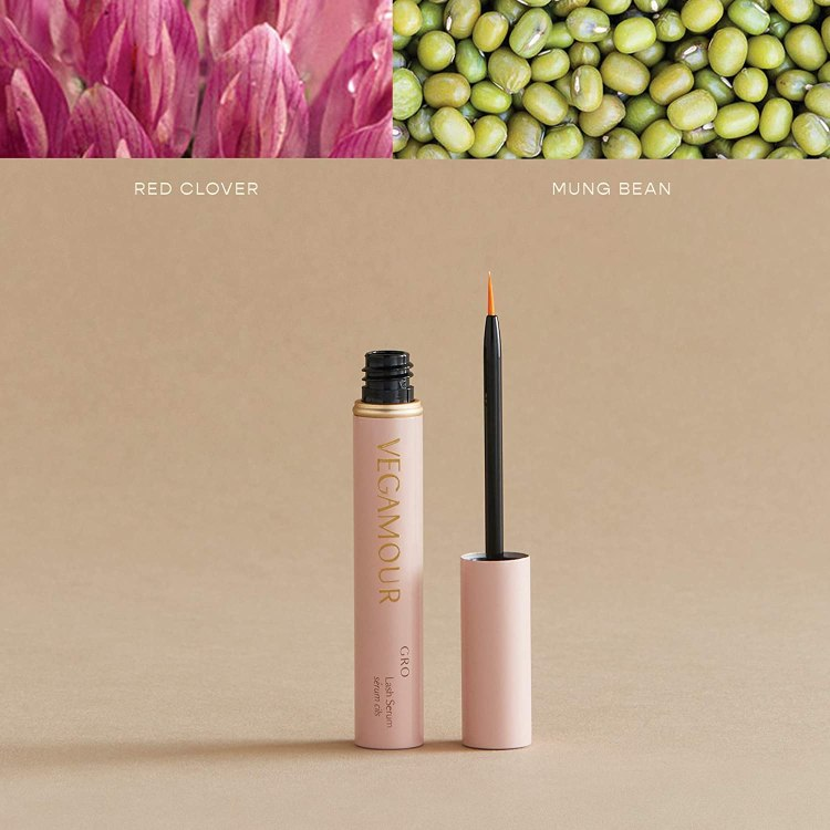 VEGAMOUR Lash Serum with Thickening Formula Boosts for Healthy Growth