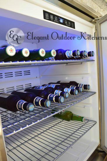 Built-In Refrigeration - Elegant Outdoor Kitchens