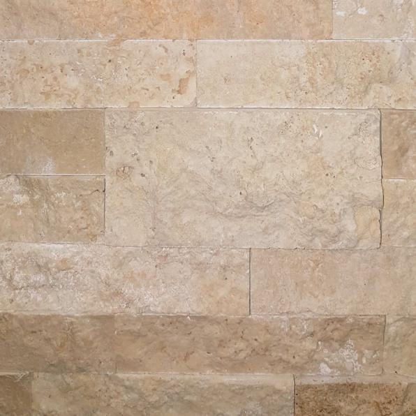 Light travertine - Stacked Stone Sample