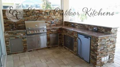 Outdoor Kitchen Estero - Elegant Outdoor Kitchens Custom Outdoor Kitchen Construction