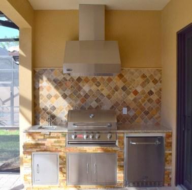 Custom Elegant Outdoor Kitchens Build - Ben Poulton of Fort Myers, Florida