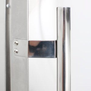 Blaze Outdoor Rated Stainless 24 Inch Refrigerator 5.2 CU - Stainless Steel Handle