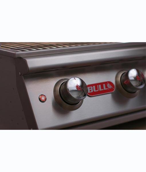 Bull - 5 Burner Brahma Grill with Infrared Back Burner Head Light