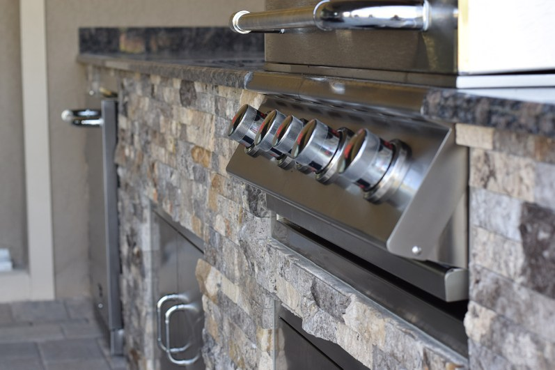 Custom Estero Outdoor Kitchen Build - Elegant Outdoor Kitchens