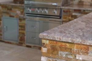 Custom Granite Outdoor Kitchen Countertops by Elegant Outdoor Kitchens