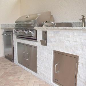 Custom Outdoor Kitchen Construction of Fort Myers Florida - Elegant ...