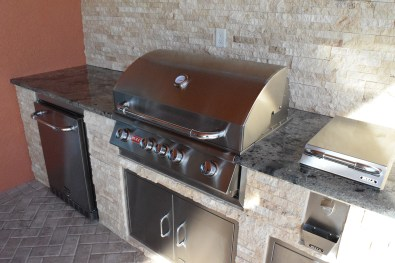 Outdoor Kitchen Construction of Fort Myers, Florida