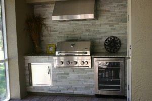 Custom Outdoor Kitchen by Elegant Outdoor Kitchens of Southwest Florida