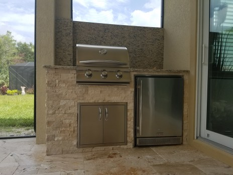 Elegant Outdoor Kitchen - BBQ Island Design & Manufacturing of Southwest Florida