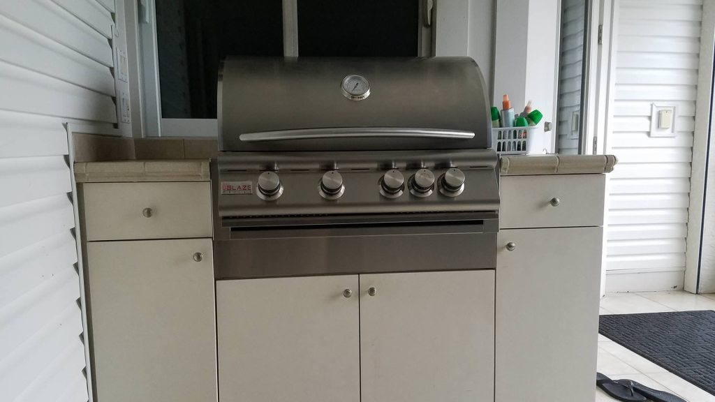 Barbecue Grill Upgrade - Elegant Outdoor Kitchens
