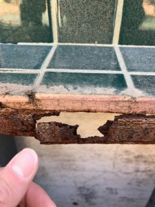 Outdoor Kitchen Structural Corrosion