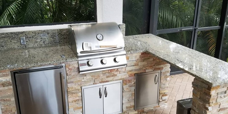 Custom Outdoor Kitchen by Elegant Outdoor Kitchens