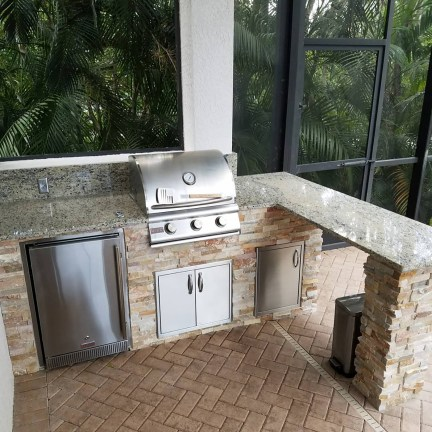 Custom Outdoor Kitchen by Elegant Outdoor Kitchens