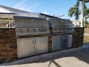 Windmill Village Southwest Florida Custom Commercial Grill Build