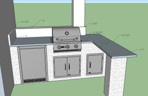 Front - Custom Outdoor Kitchen Design by Elegant Outdoor Kitchens