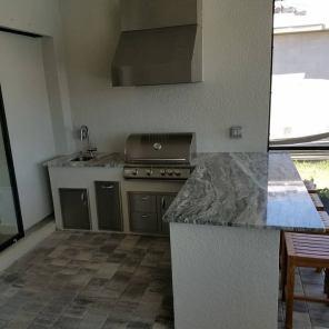 Beautiful Level 3 Ocean Beige Granite Countertops