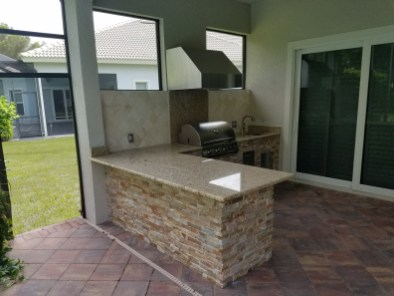 Outdoor Kitchen - Completed Renovation Photo
