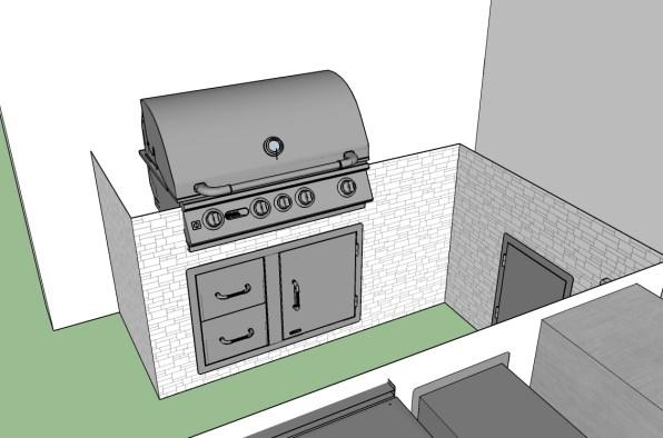 CAD - The Contractors Outdoor Kitchen
